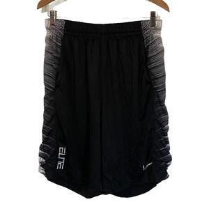 Nike Dri-Fit Elite Black & White Shorts Men's XL